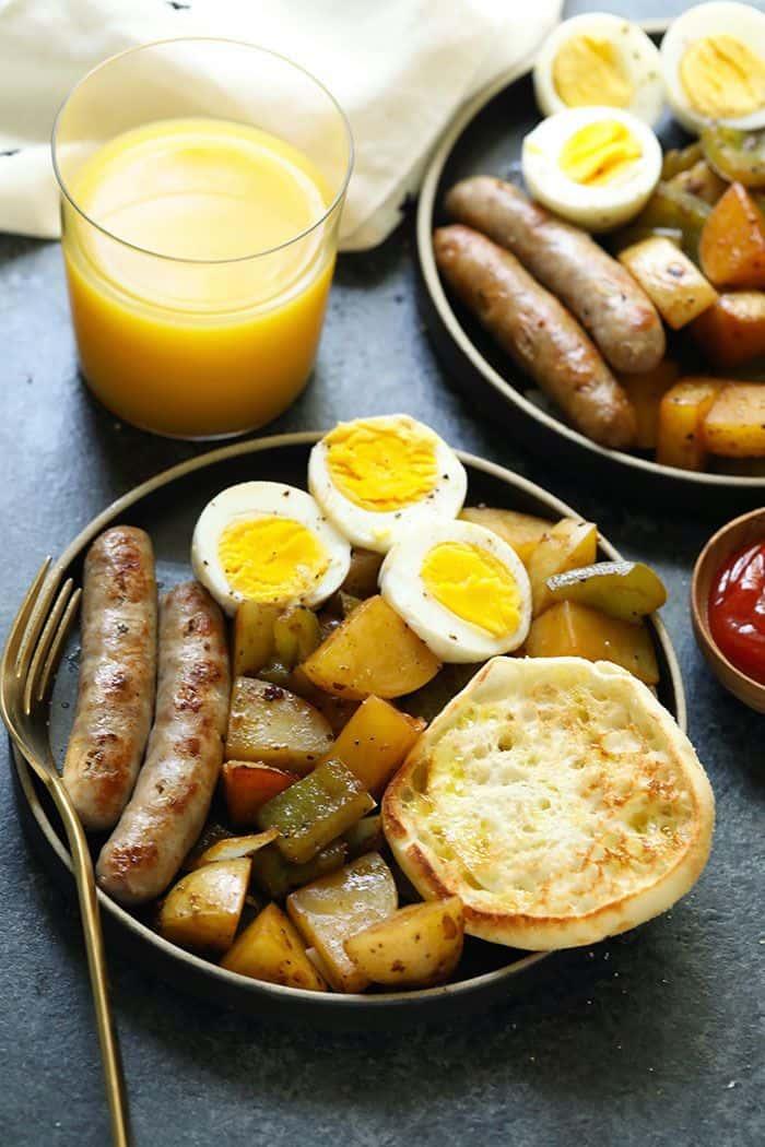Instant Pot Hard Boiled Eggs Meal Prep Breakfast