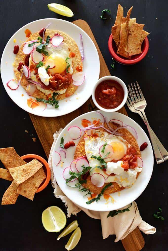 Gluten-Free Breakfast Tostadas
