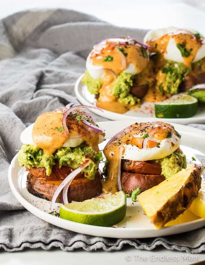 Mexican Egg Benedicts