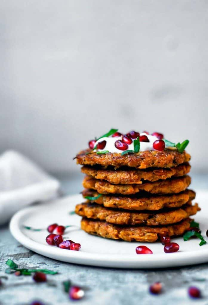 Sweet and Spicy Potato Pancakes
