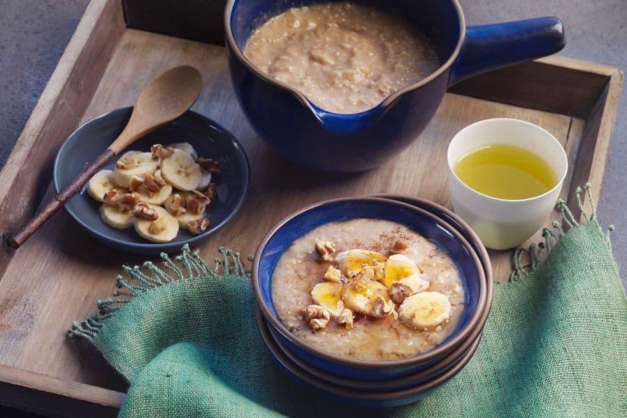 Korean Walnut Rice Porridge