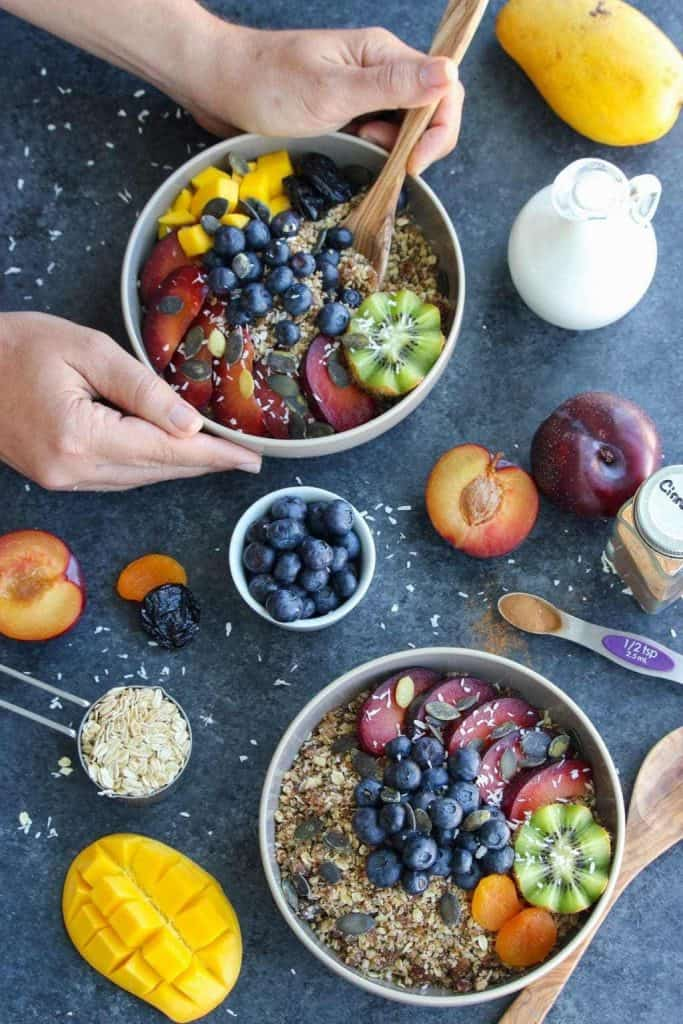 Nutritious Vegan Breakfast