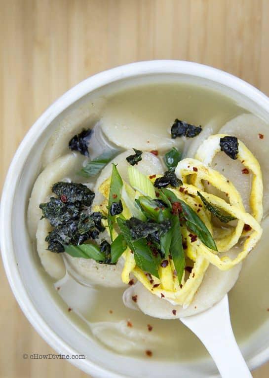 Korean Rice Cake Soup