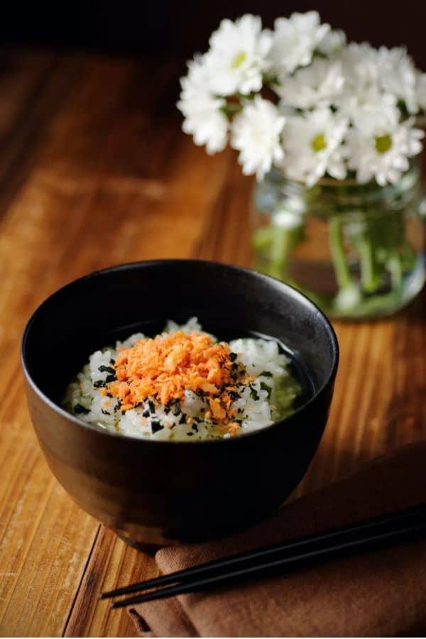 Ochazuke with Leftover Rice