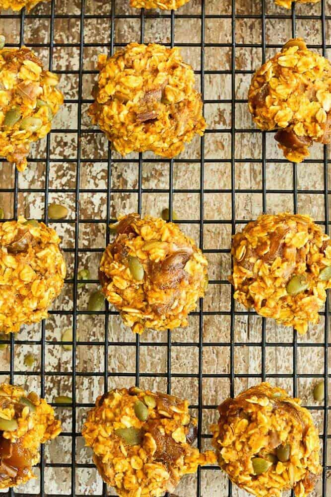 Pumpkin Breakfast Cookies (Dairy-Free, Gluten-Free, and Nut-Free)