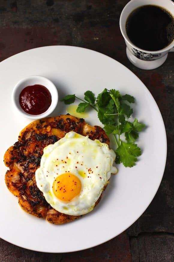 Savory Korean Breakfast Pancake
