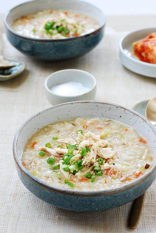 Korean Chicken Porridge