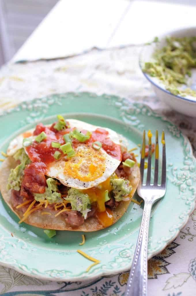Easy Breakfast Tostada