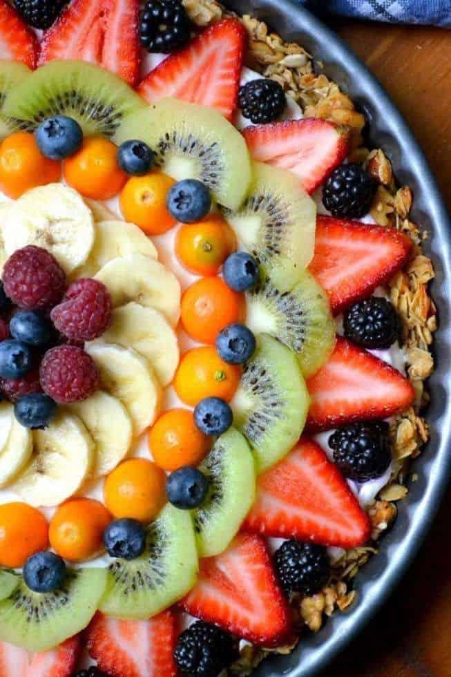 Gluten-free Breakfast Fruit Tart