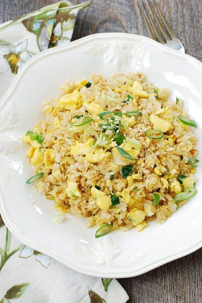 Korean Egg Fried Rice
