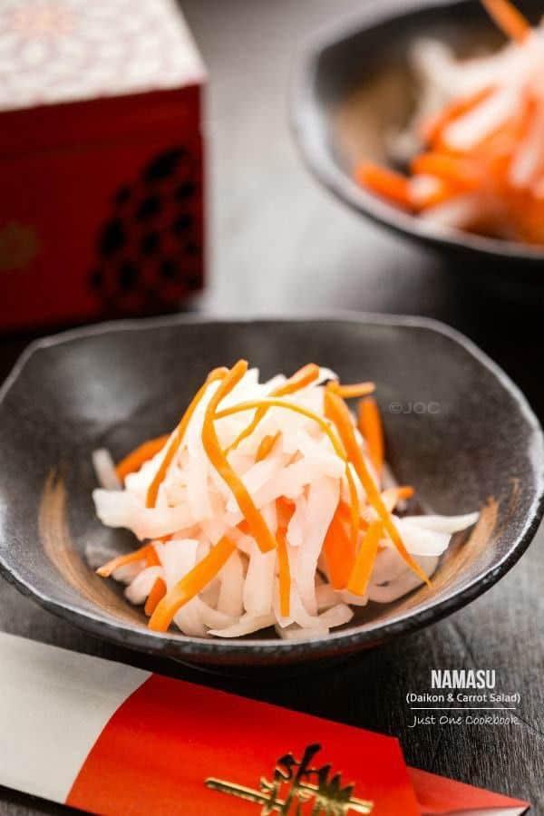 Light Daikon and Carrot Salad