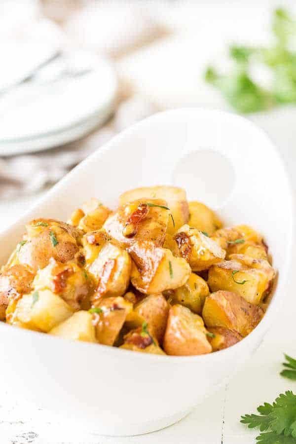 Potato and Bacon with Ranch Dressing