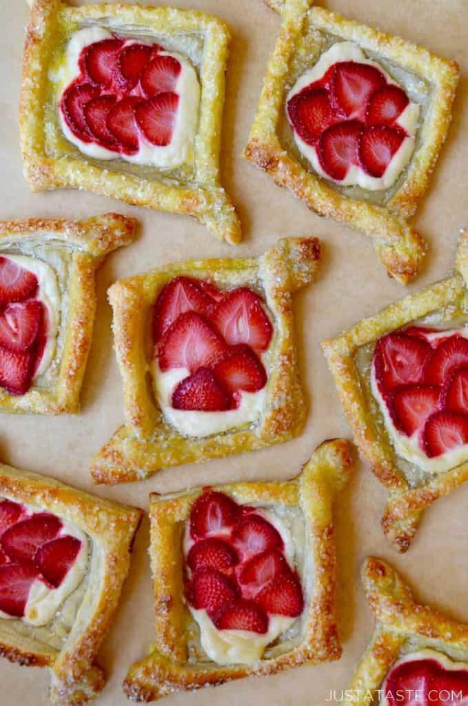Mini Fruit Breakfast Pastries