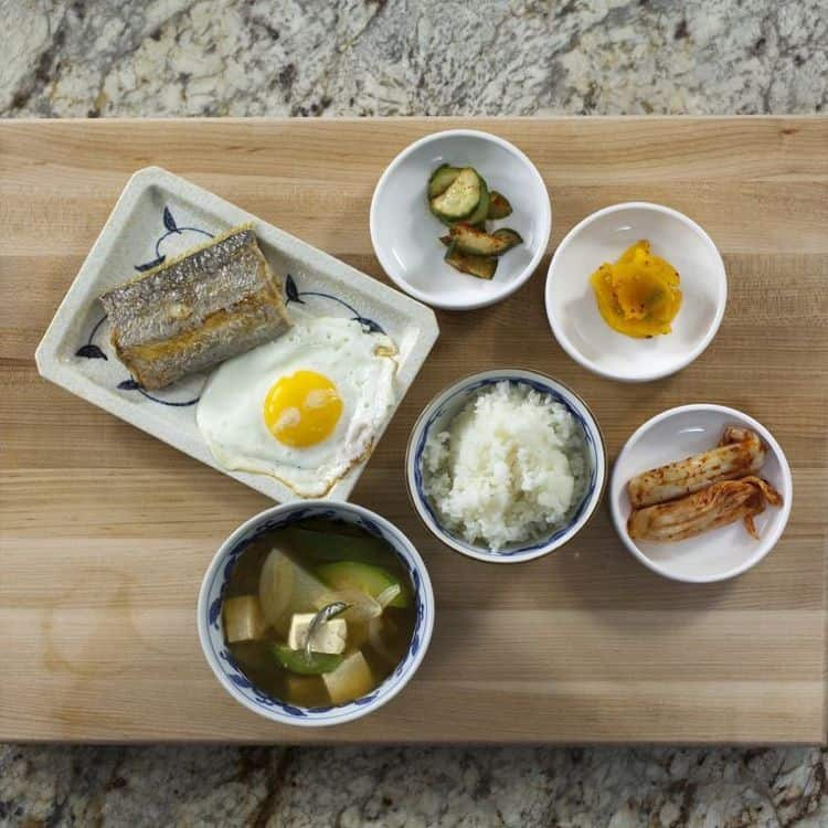 Traditional Korean Breakfast