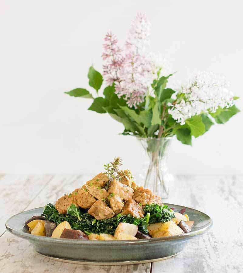 Vegetarian Instant Pot Tempeh