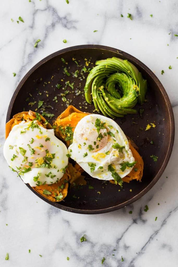 Instant Sweet Potato and Egg Breakfast