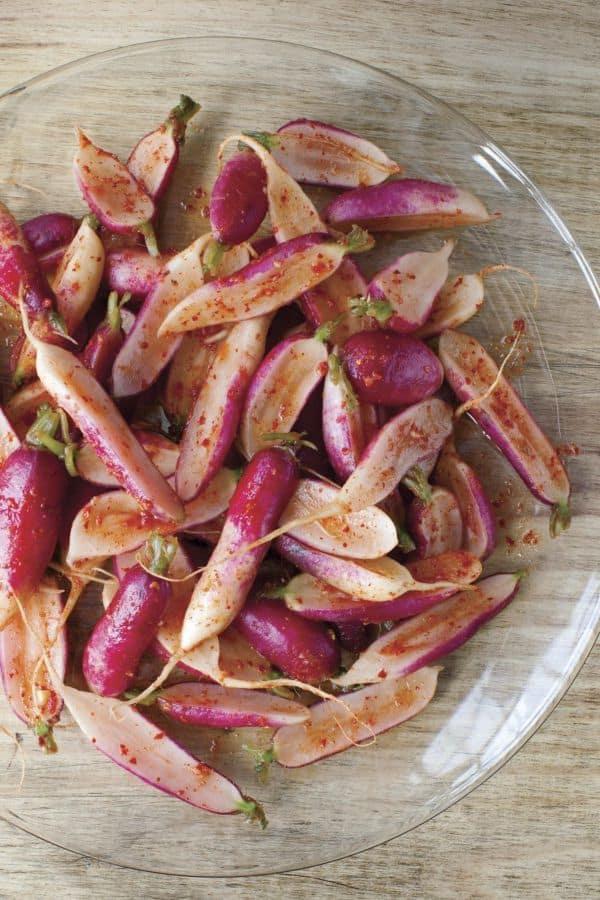 Breakfast Radish Kimchi