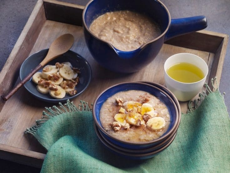 Korean Walnut Rice Porridge