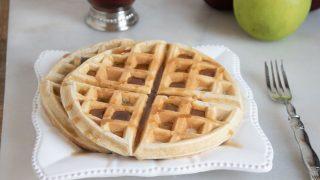 Applesauce Belgian Waffles