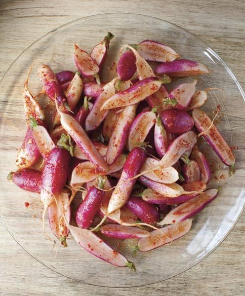 French Breakfast Radish Kimchi