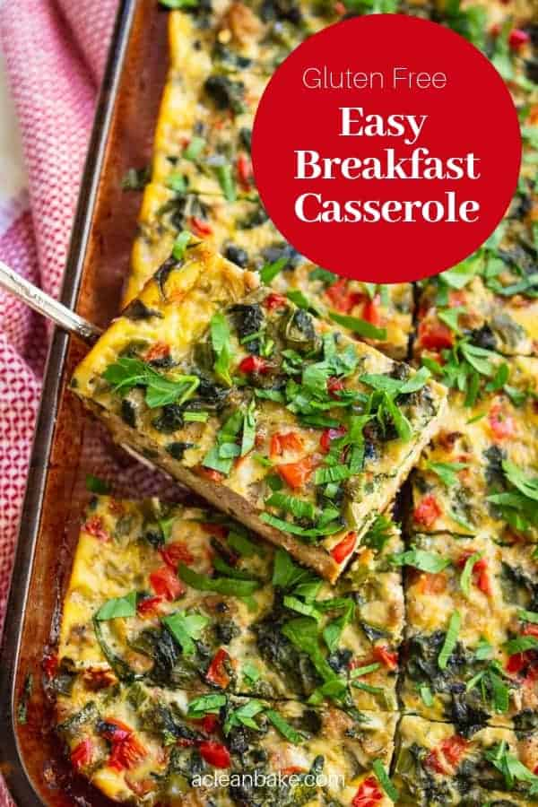 Easy Gluten Free Breakfast Casserole