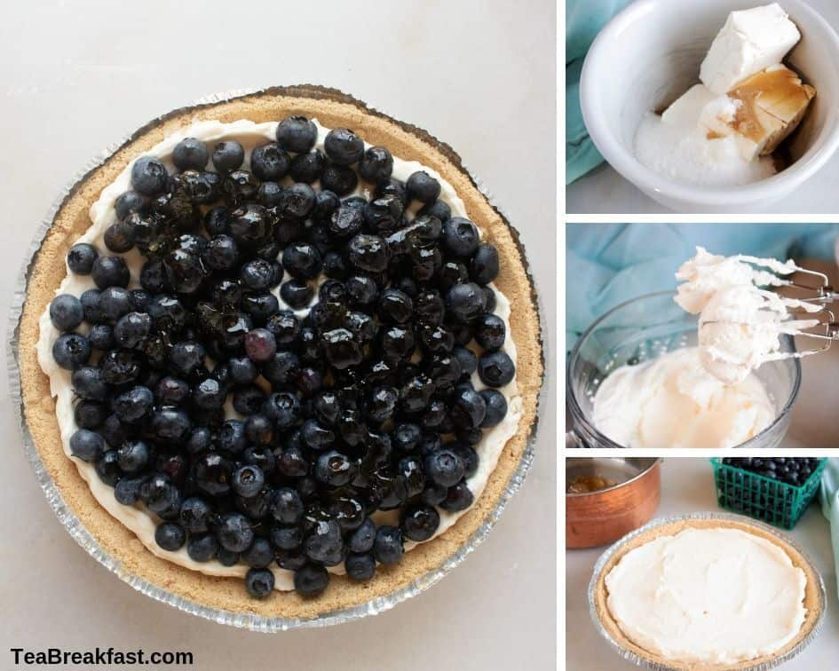 How to Make Blueberry Cream Pie