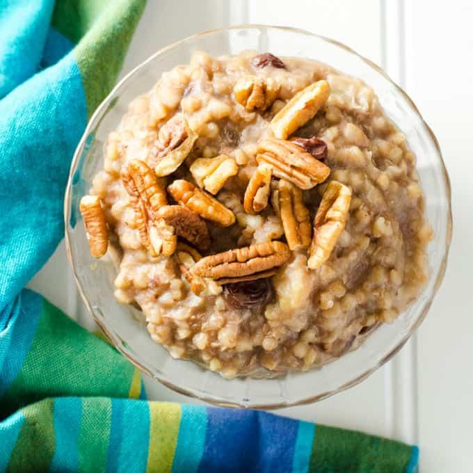 Instant Pot Buckwheat Porridge
