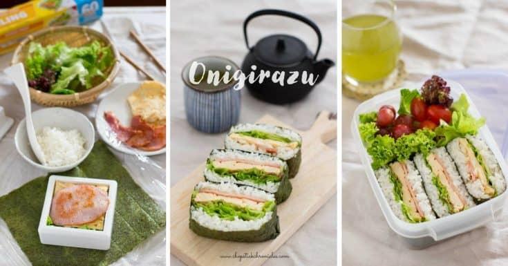 Rice Sandwich BLT Onigirazu
