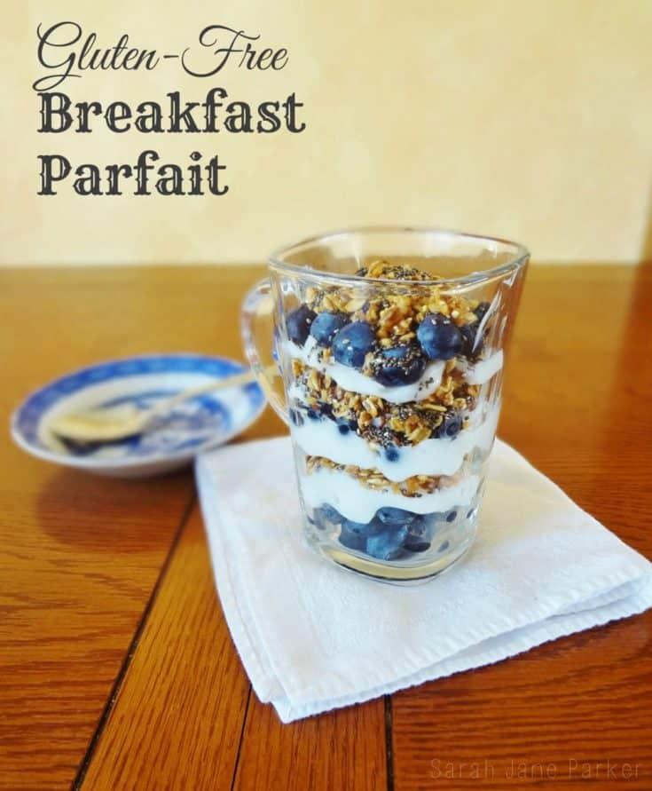 Gluten Free Breakfast Parfait (Dairy Free)