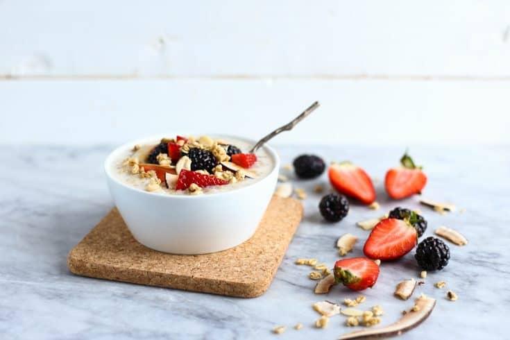 Tapioca Coconut Porridge