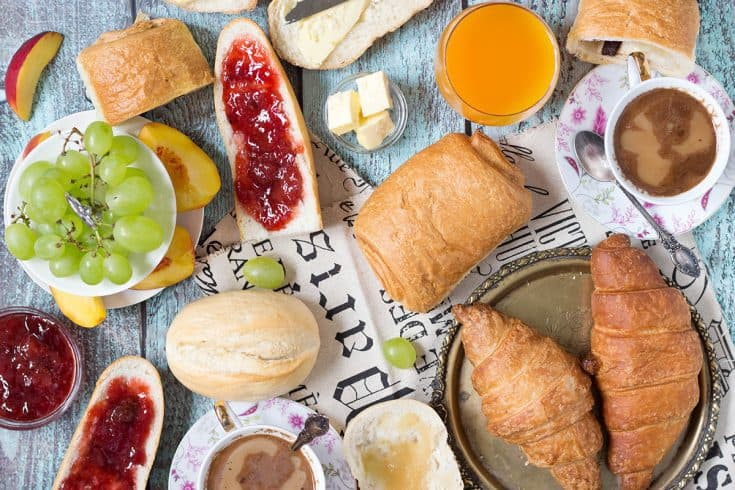 Simple French Breakfast