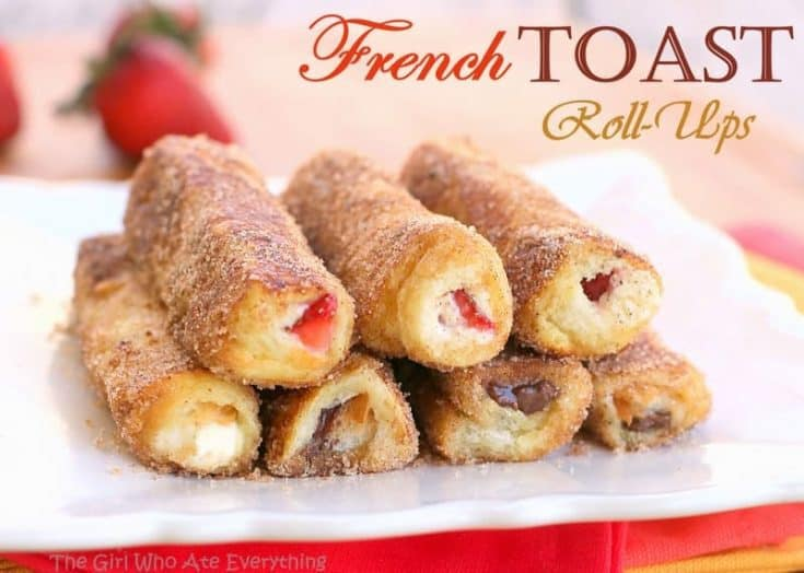 ROLLED-UP FRENCH TOAST