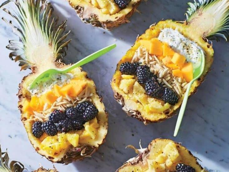 Pineapple-Mango Breakfast Bowls