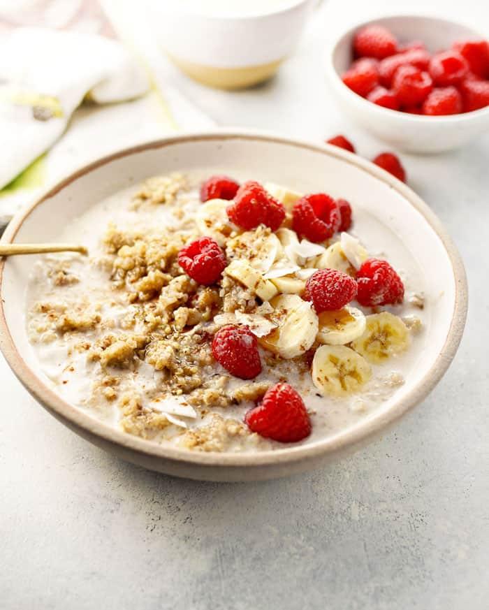 Instant Pot Quinoa Breakfast Bowls