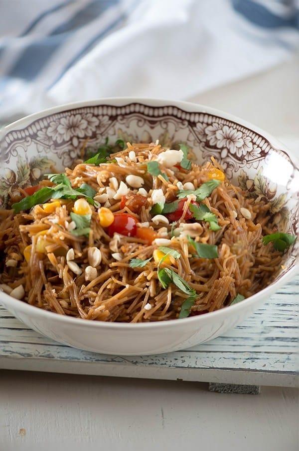 Asian Vermicelli Noodle Bowl