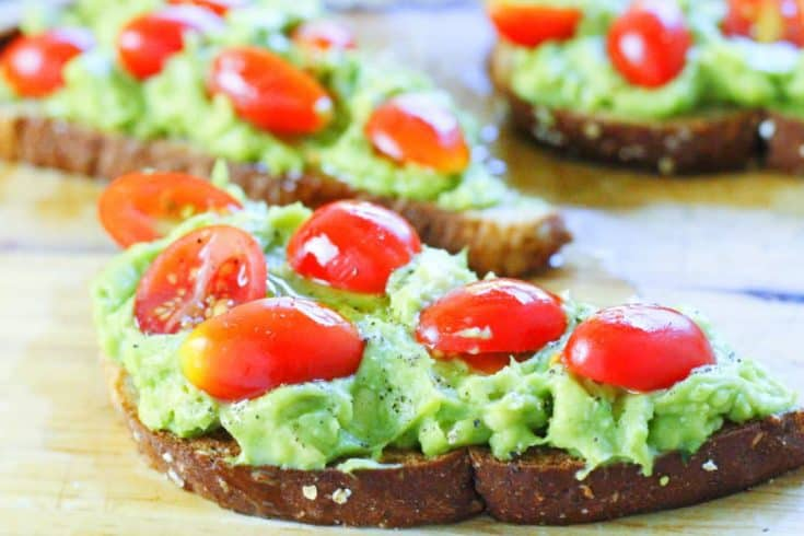 Avocado Toast Camping Lunch Problem Solved