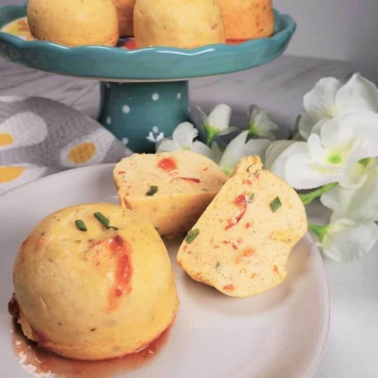 Instant Pot Feta Cheese & Red Pepper Egg Bites