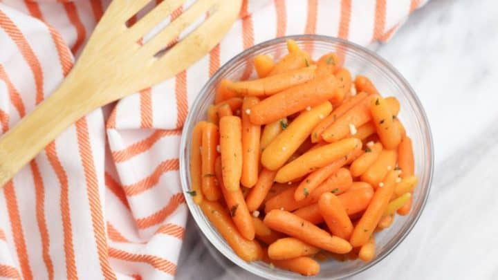 Instant Pot Garlic Glazed Carrots