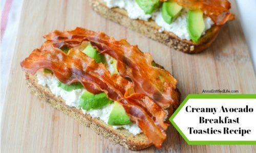 Creamy Avocado Breakfast Toasties Recipe