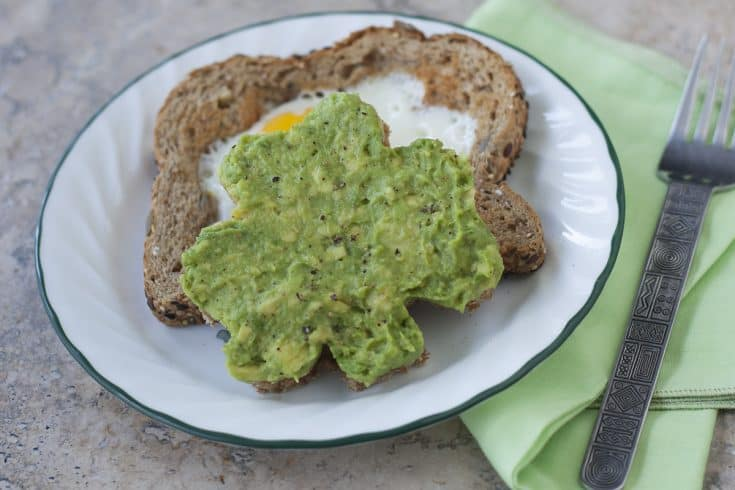 Avocado Toast and Egg in a Basket