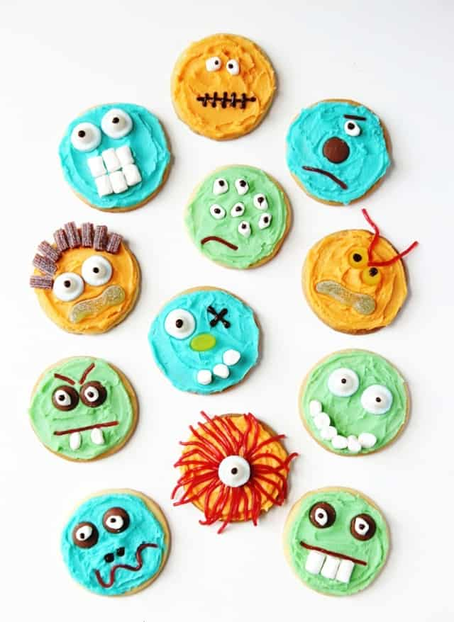 """Simple """"Monster"""" Biscuits"""