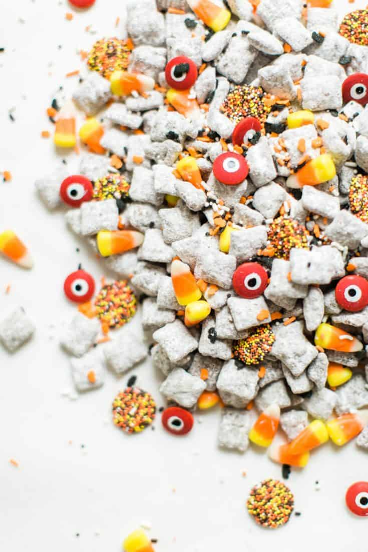 Halloween-themed Puppy Chow