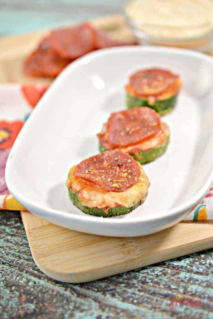 Mini Zucchini Pizza Snacks