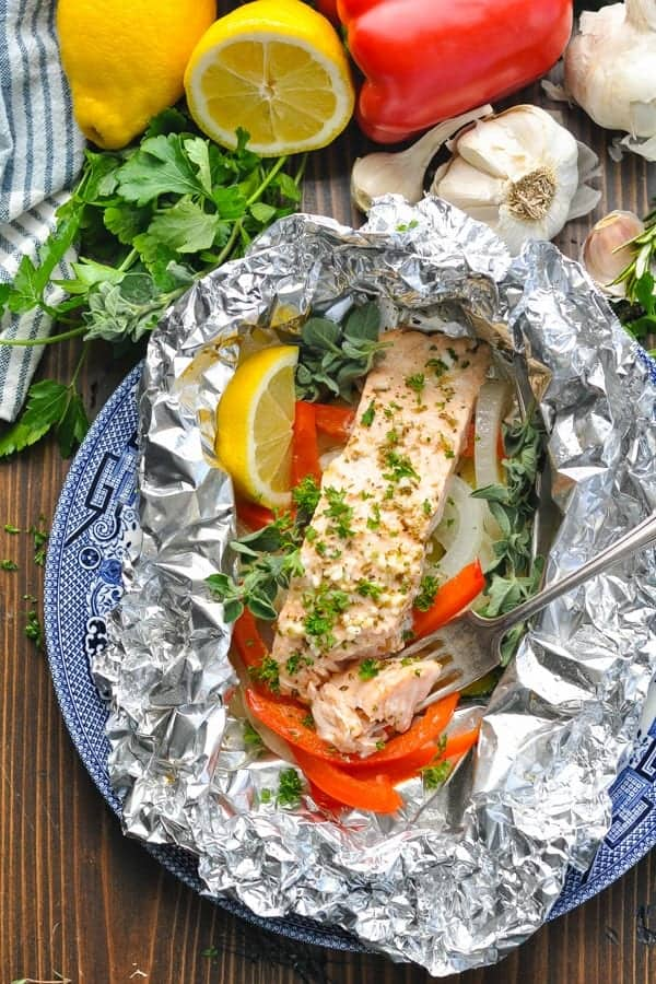 Refreshing Greek Salmon