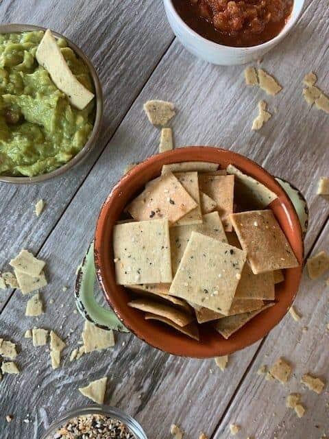 Dairy-Free Crispy Keto Chips