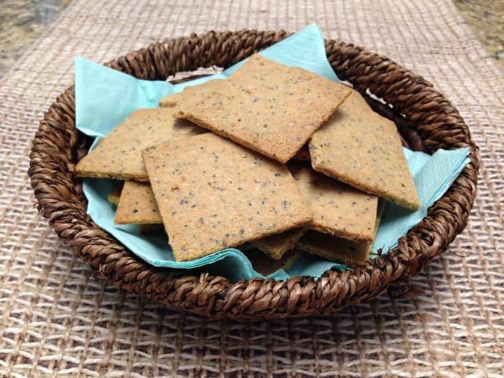 Spiced Keto Crackers