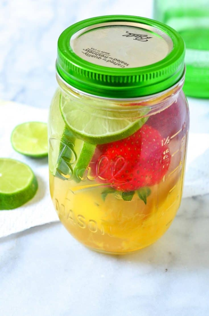 Strawberry Mango Infused Water