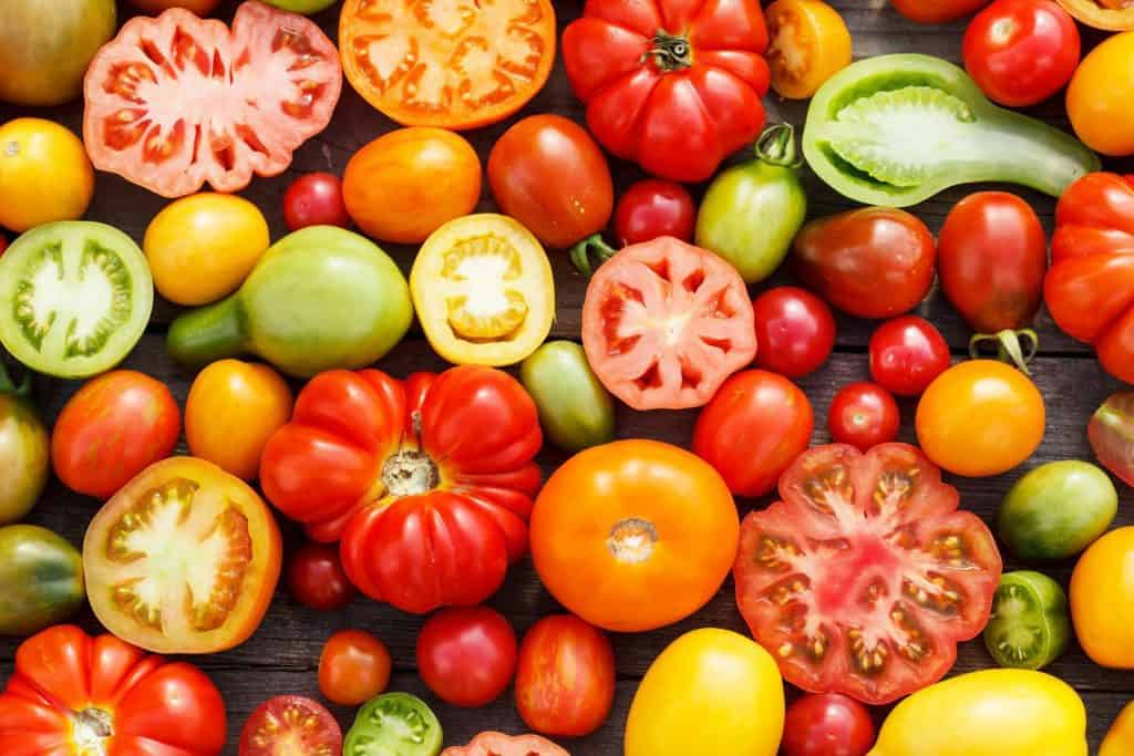 Hybrid VS Heirloom Tomatoes