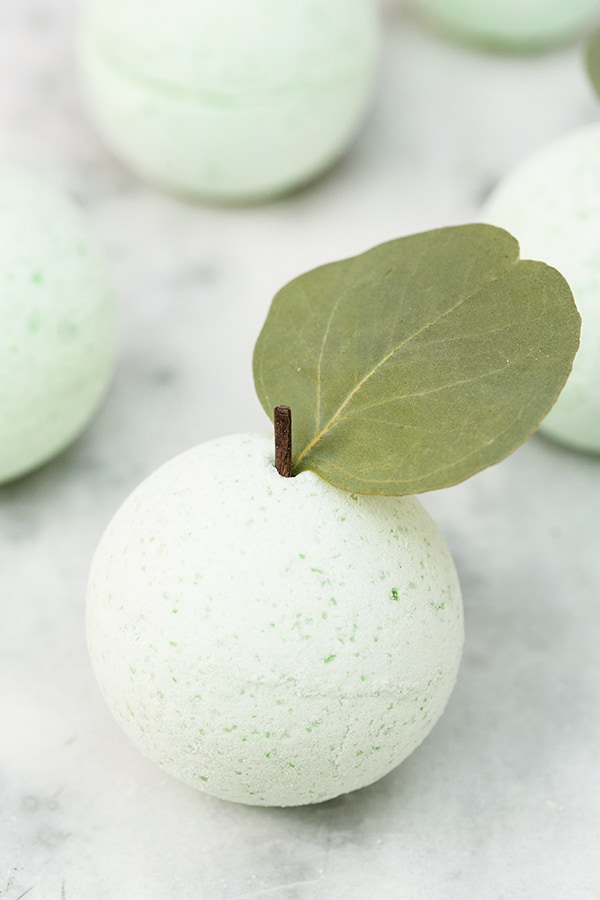 Fresh and Pure Apple Bath Bomb