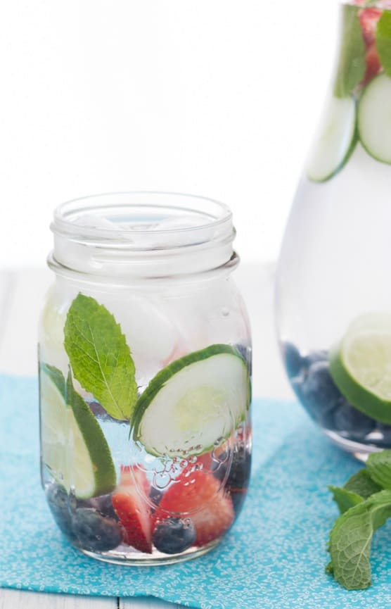 Mix Berries Infused Water